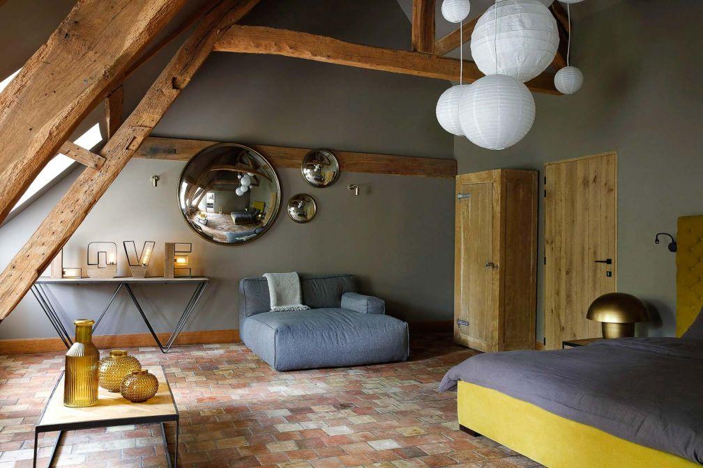 Le Manoir de la Plage, la maison d'hôtes la plus élégante des environs d'Honfleur © DR
