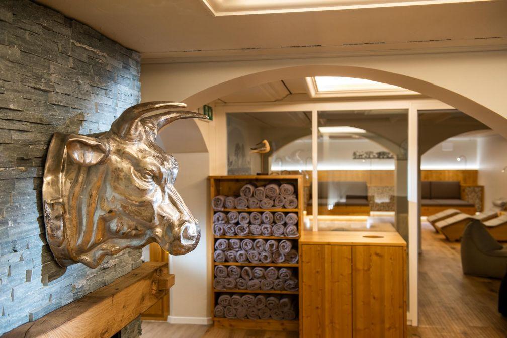 Le spa du Golfhotel les hauts de Gstaad & Spa © Golfhotel les hauts de Gstaad & Spa