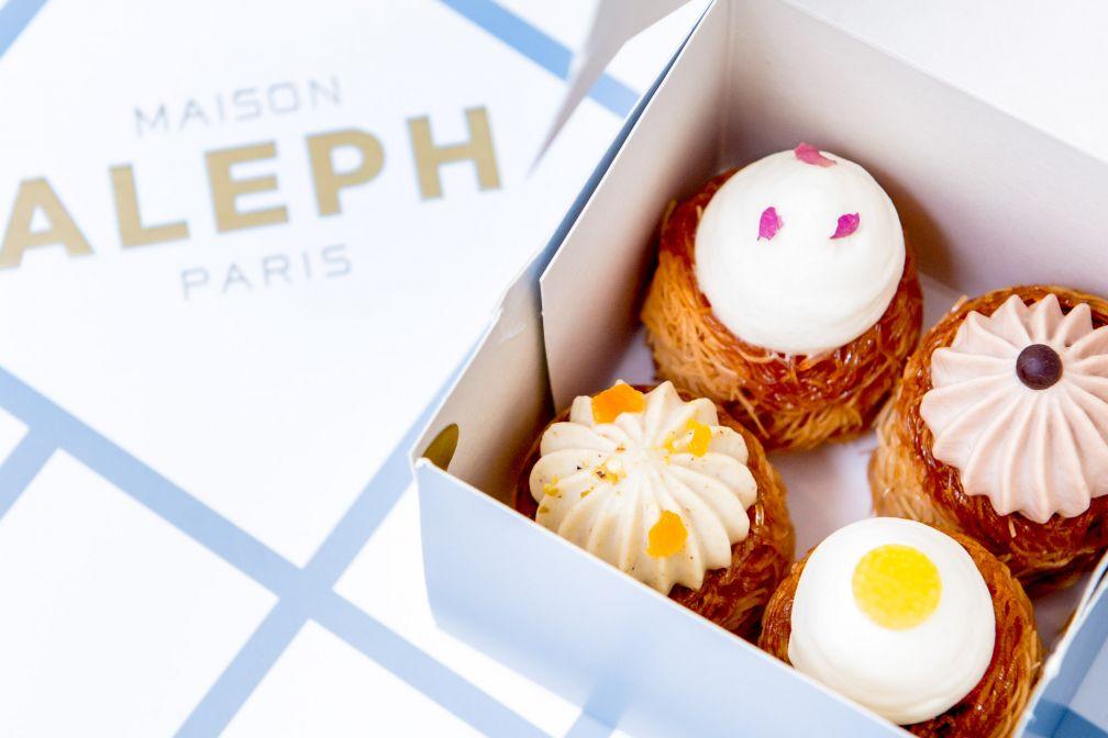 Les pâtisseries orientales de la Maison Aleph © Caspar Miskin