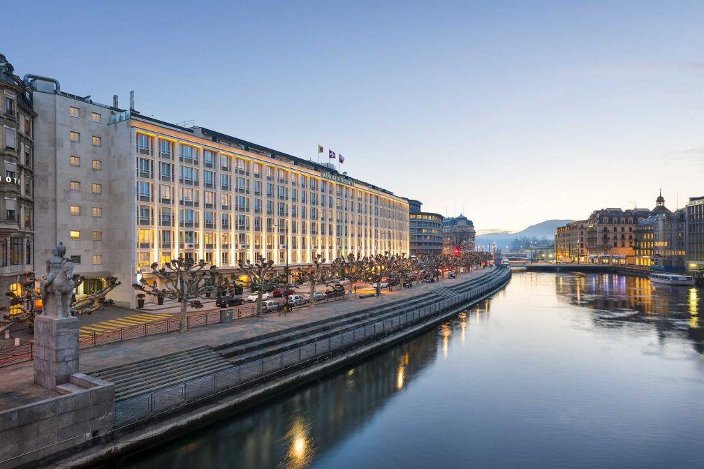 Le Mandarin Oriental, Geneva est l'un des plus beaux hôtels de la seconde ville la plus peuplée de Suisse © Mandarin Oriental Hotel Group