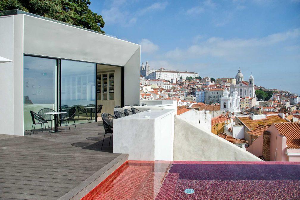 Le panorama depuis l'hôtel Memmo Alfama est imprenable. © DR