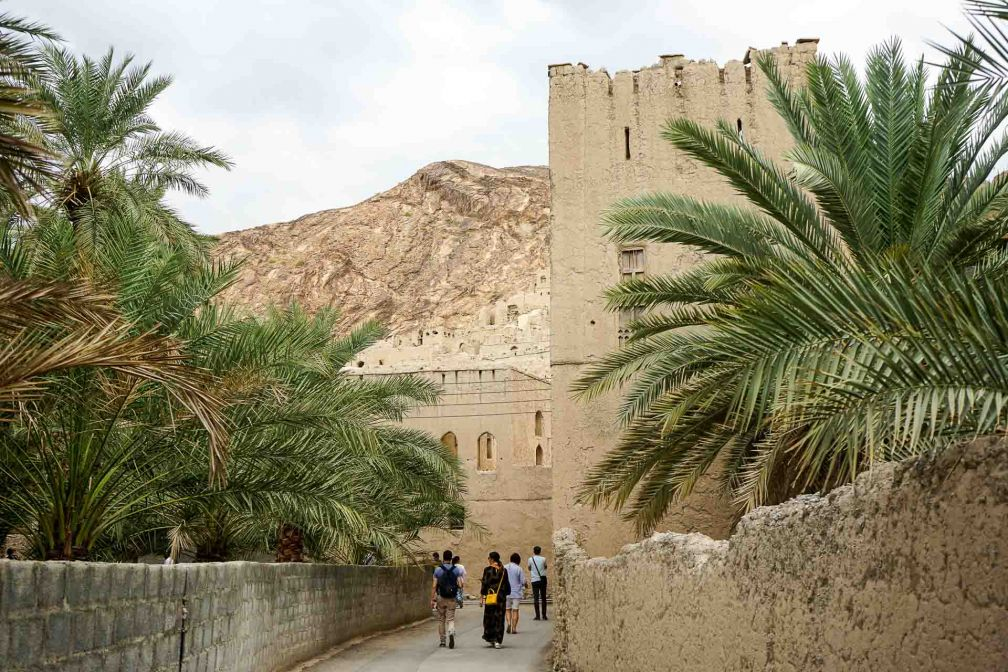 Visite de l'oasis de Birkat Al Mouz, non loin de Nizwa © YONDER.fr