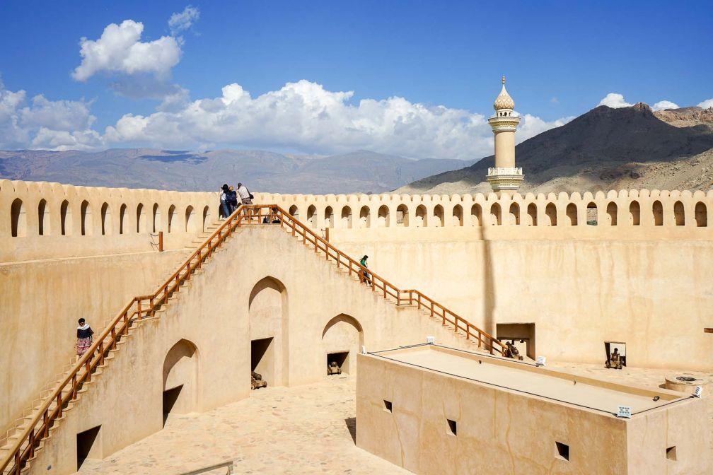 Le fort de Nizwa, lieu de visite incontournable de tout séjour dans le sultanat © YONDER.fr