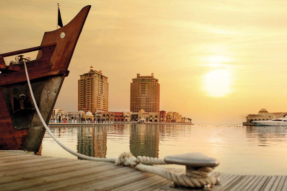 Coucher de soleil sur The Pearl © QTA