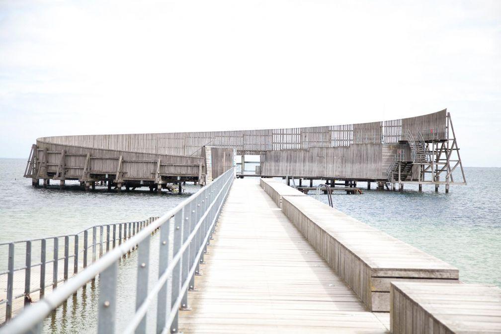 Amager Strand, lieu de prédilection des Copenhagois en goguette © Caroline Mélia