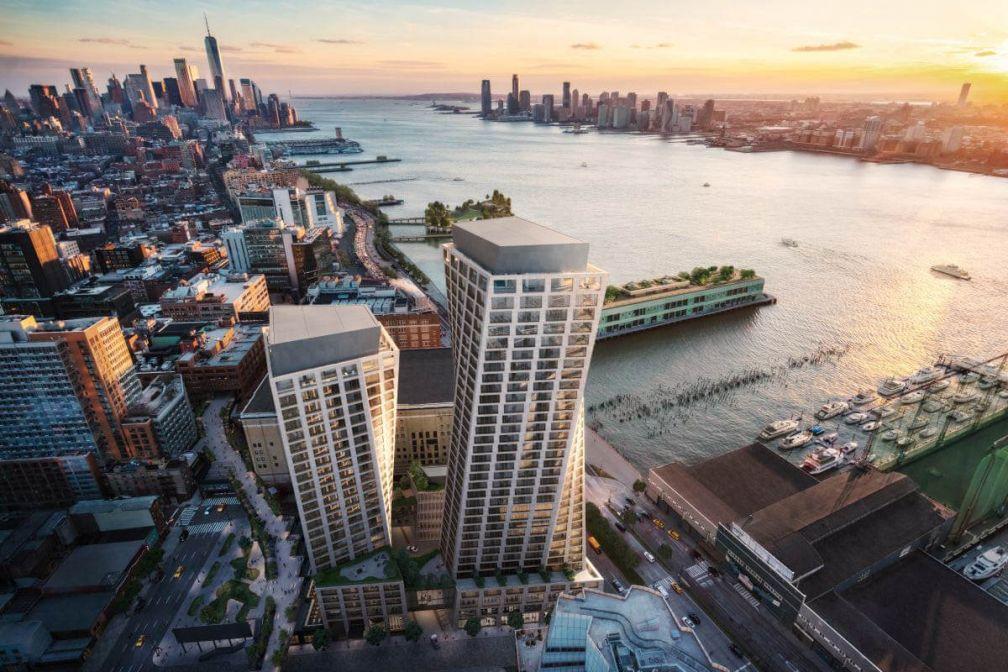 Le Six Senses New York ouvrira ses portes fin 2020 dans un luxueux complexe résidentiel de West Chelsea © DR