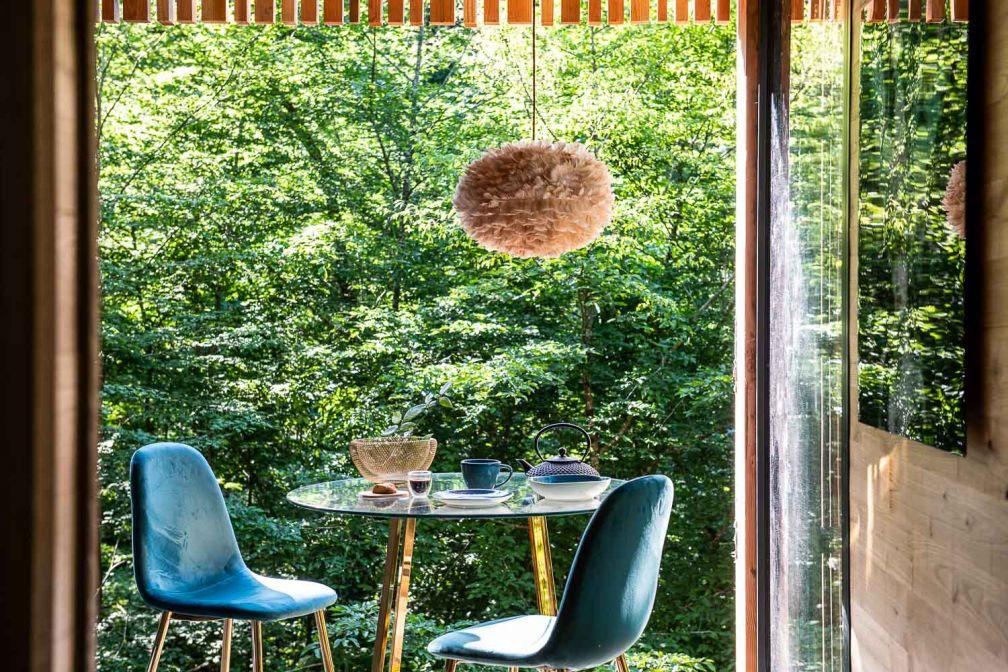 Dormir dans les arbres avec tout le confort moderne aux Loire Valley Lodges, près de Tours © Anne-Emmanuelle Thion