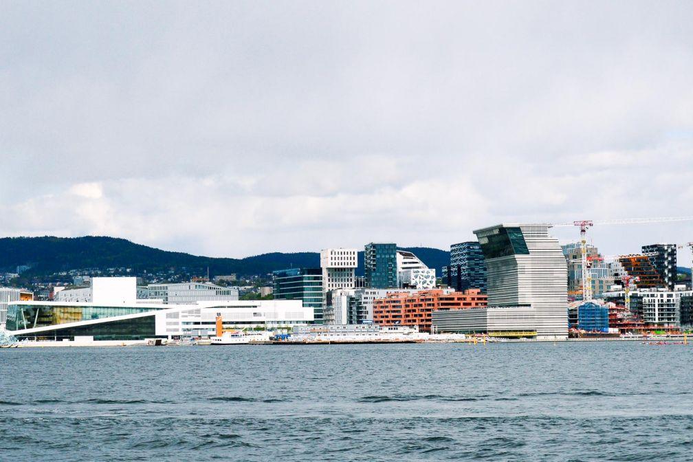La baie en pleine rénovation, avec le nouveau Musée Munch prévu pour 2020 © Pierre Gunther