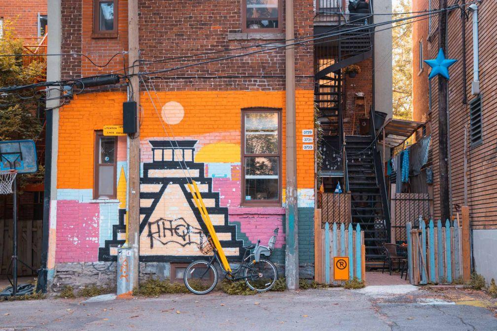 L'art urbain, partie intégrante de la ville de Montréal © Tristan Billet