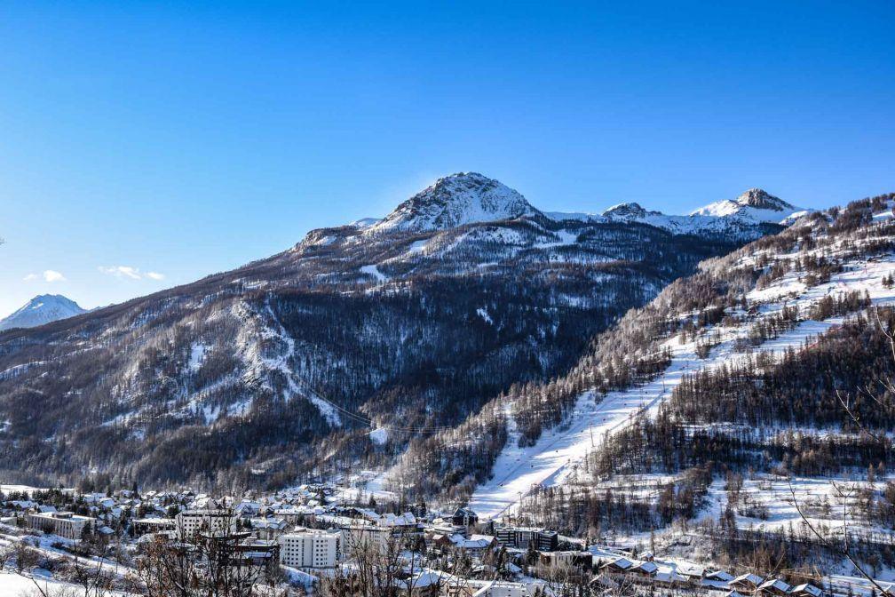 La Vallée de Serre Chevalier en hiver, enneigement garanti ! © Laura Peythieu