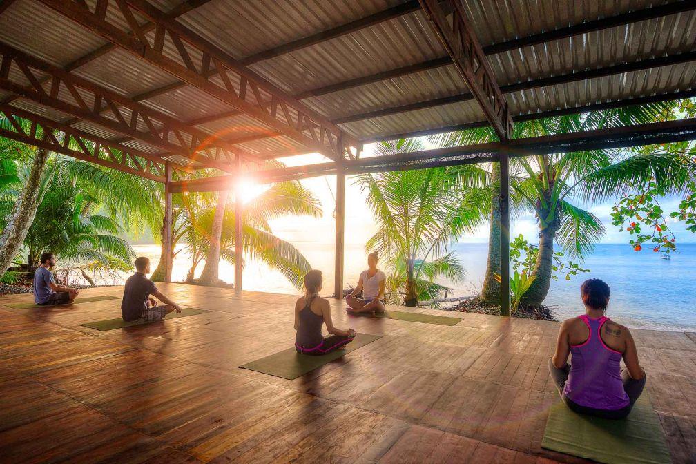 Le yoga est une activité incontournable de tout séjour au Costa Rica © DR