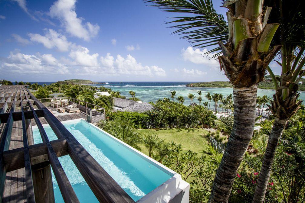 Les villas du Sereno à Saint-Barth, retraites de rêve au coeur de l'une des plus exclusives îles des Caraïbes.