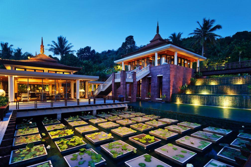 Le Trisara est composé d'un ensemble de pavillons ouverts vers l'extérieur | © Trisara