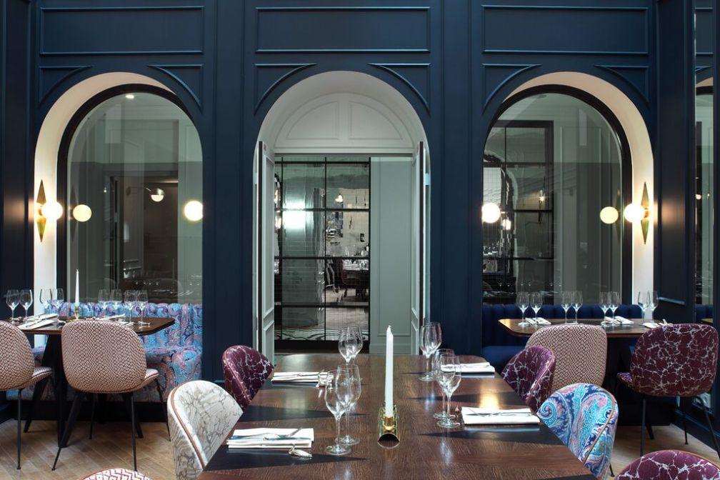 Le Bachaumont, restaurant de l'hôtel éponyme, fait déjà un tabac à Montorgueil.