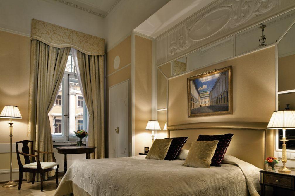 La Rossi Suite est l'une des dix suites historiques du Grand Hotel Europe | © Belmond
