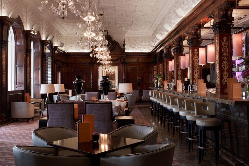 Le Cadier, bar de palace chic et feutré par excellence. Les socialites stockholmois l'adorent | © Grand Hôtel Stockholm