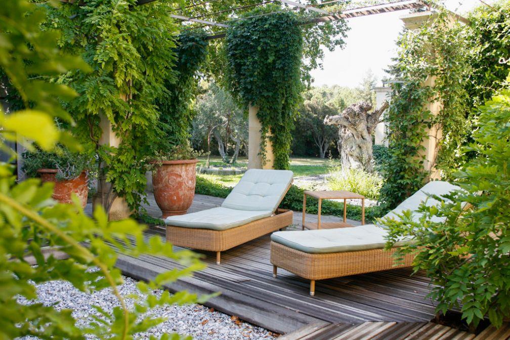 L'hôtel dispose d'un vaste spa avec jardin depuis l'été 2007 | © Baumanière
