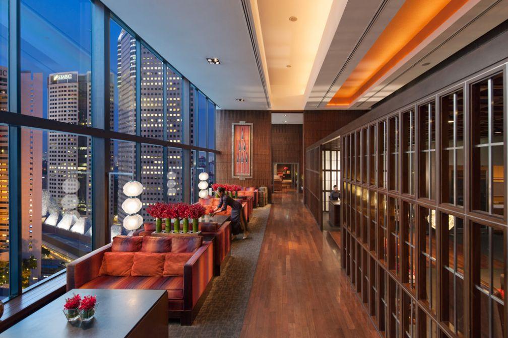 Pour les hôtes séjournant dans les étages Executive, un accès au lounge Oriental Club est garanti   © Mandarin Oriental Hotels Group