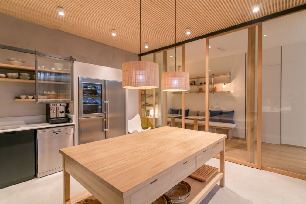 Margot House dispose également d'une superbe cuisine, à disposition des guests de l'hôtel | © Margot House Barcelona