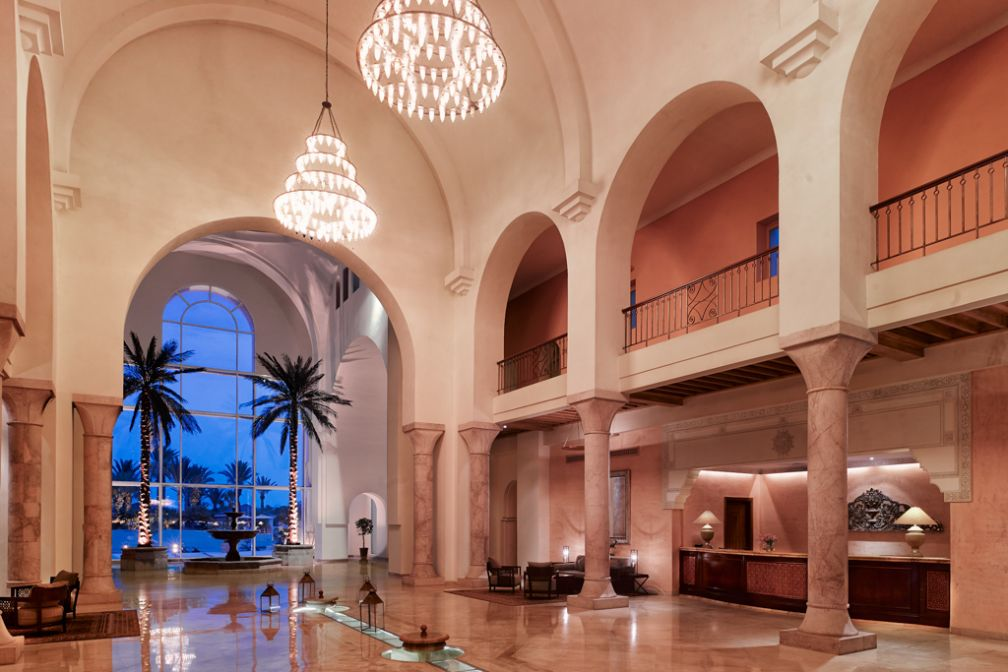 Le lobby de The Residence Tunis, un lieu fastueux | © The Residence Tunis