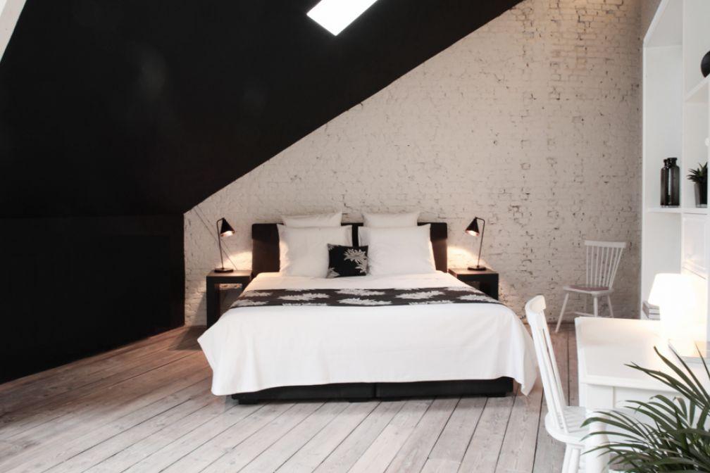 Maison Nationale : un décor en noir et blanc © Yonder.fr
