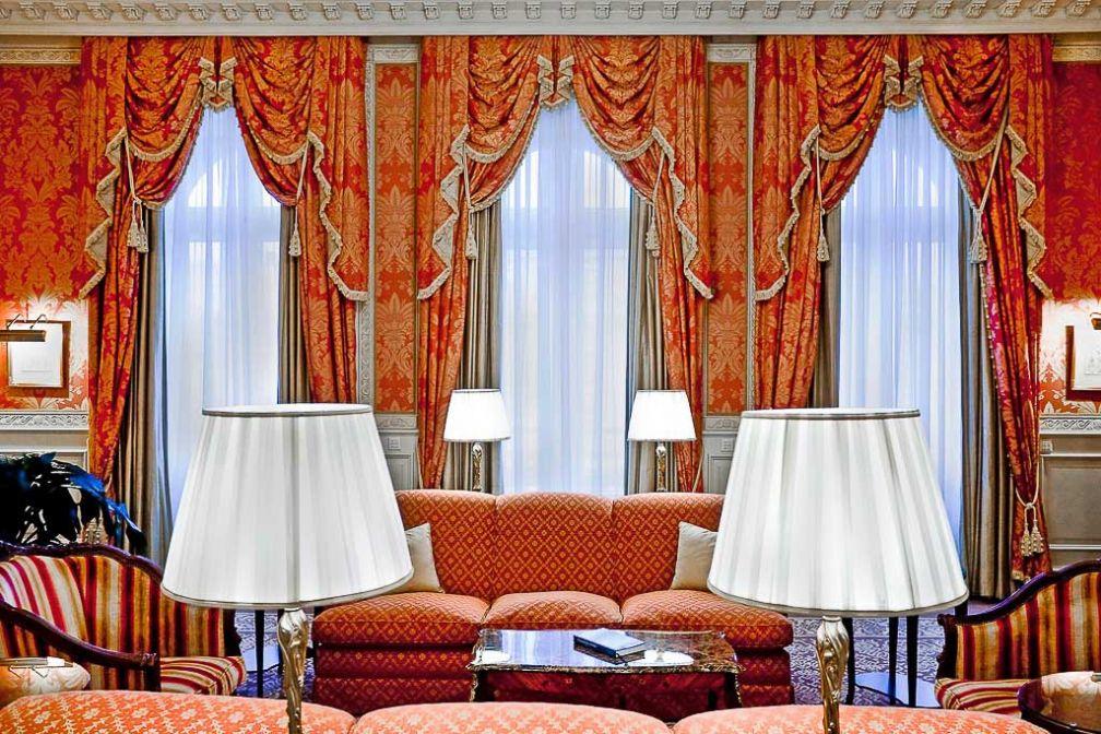 A l'intérieur de la fastueuse Suite Présidentielle | © Grand Hotel Wien