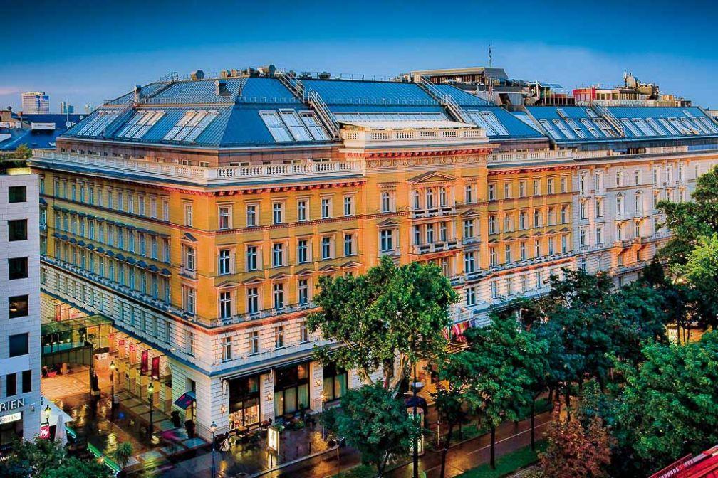 La façade du Grand Hotel Wien, sur le Ring | © Grand Hotel Wien