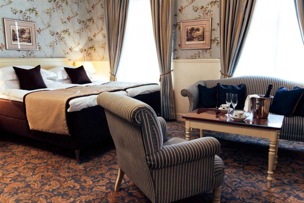 A l'intérieur d'une très confortable Junior Suite de l'Hotel Schlössle   © Hotel Schlössle