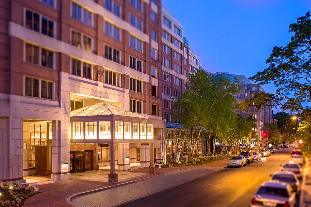 L'entrée de l'hôtel sur la 24ème rue | © Park Hyatt Washington