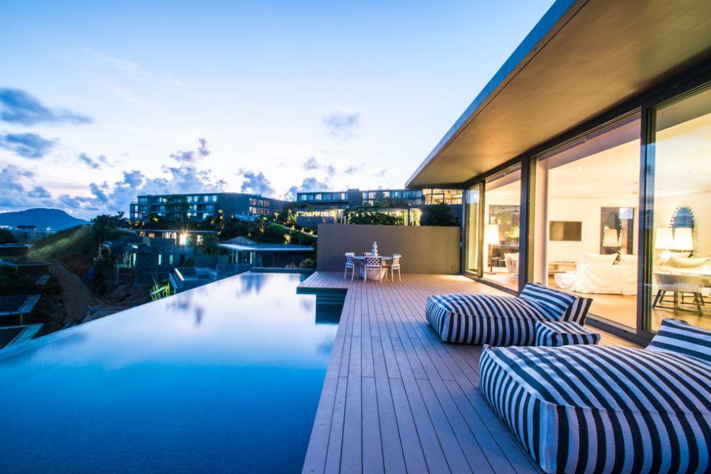 Les villas Point Yamu by COMO disposent de somptueuses piscines privatives