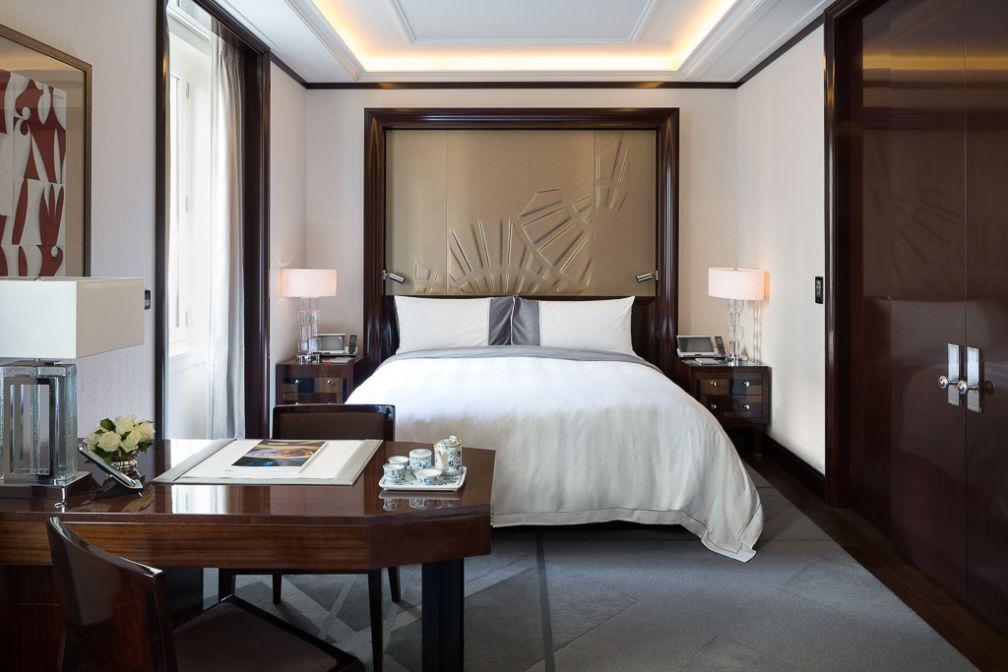Une chambre Grand Premier offrant 60 mètres carrés de pur luxe | © The Peninsula Hotels