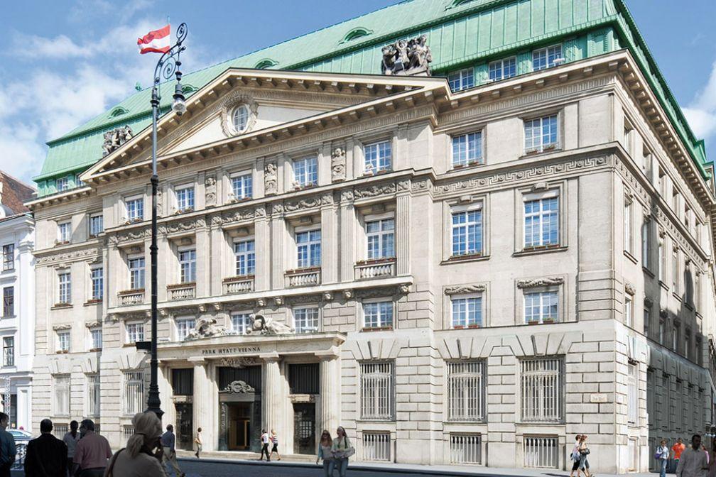 Extérieur de l'hôtel sur la place Am Hof   © Hyatt Hotels and Resorts