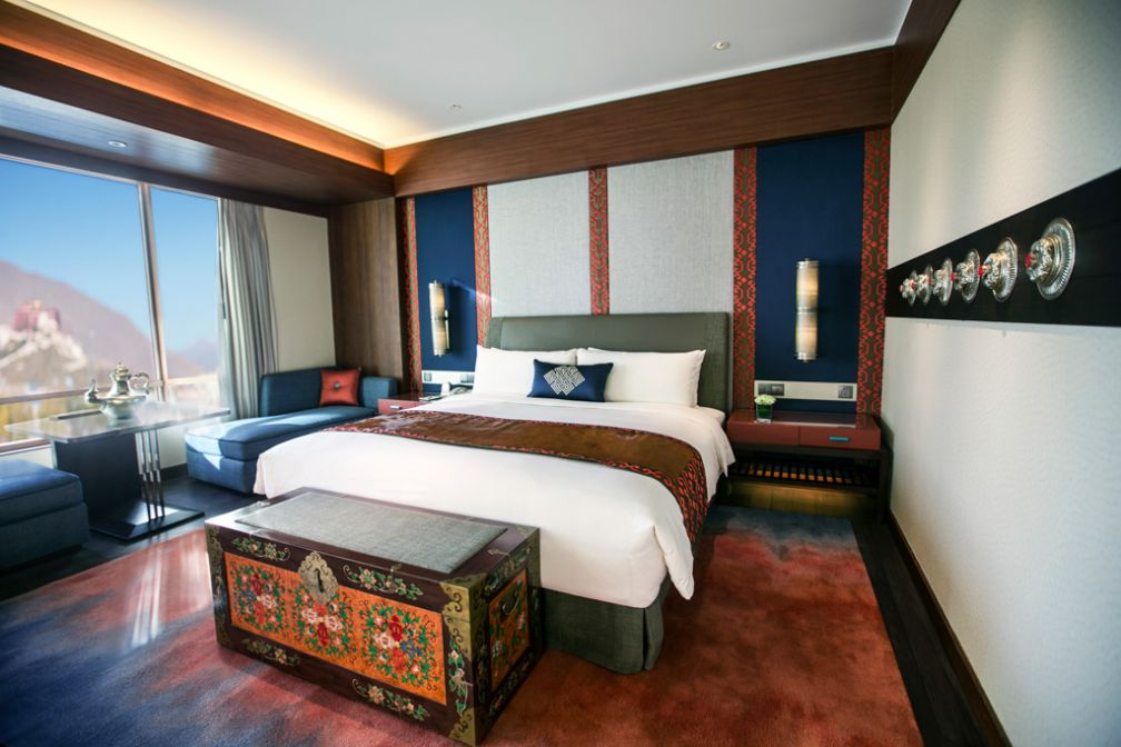 Chambre Deluxe © 2014 Shangri-La International Hotel Management Ltd