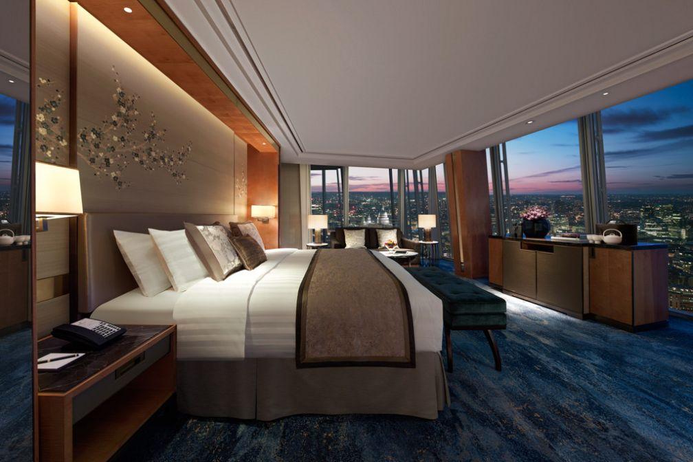 Chambre Iconic City View | © 2014 Shangri-La International Hotel Management Ltd.