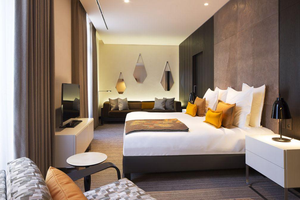 La magnifique King Suite, très chic et spacieuse à la fois.  | © Hôtel D