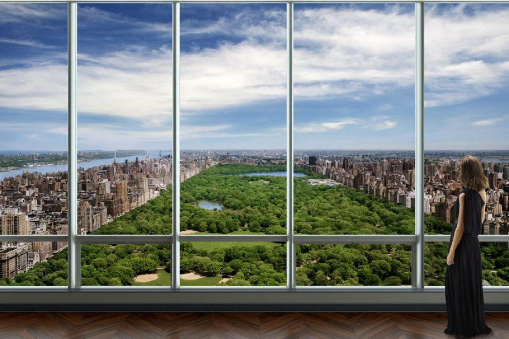 a l int rieur du penthouse le plus cher de new york yonder. Black Bedroom Furniture Sets. Home Design Ideas