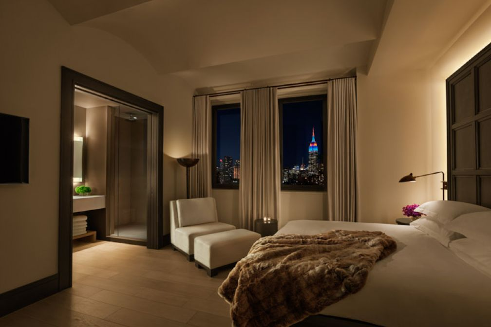 Chambre avec vue à The Edition New York ©THE EDITION