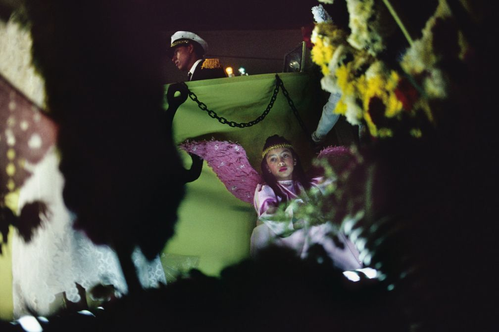 Oaxcaa. 1990. Fiesta. © Alex Webb / Magnum Photos