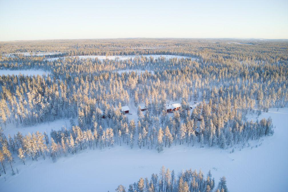 Vue aérienne du Naali Lodge. © YONDER.fr