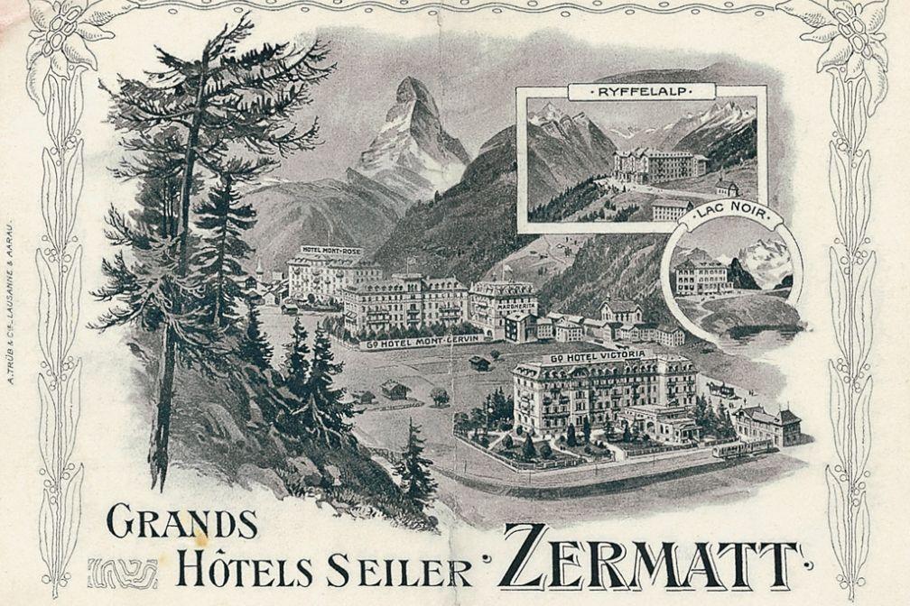 Le Mont Cervin Palace et le Monte Rosa font toujours partie des hôtels ##Seiler@@http://www.seilerhotels.ch - les hôtels Schwarzsee (