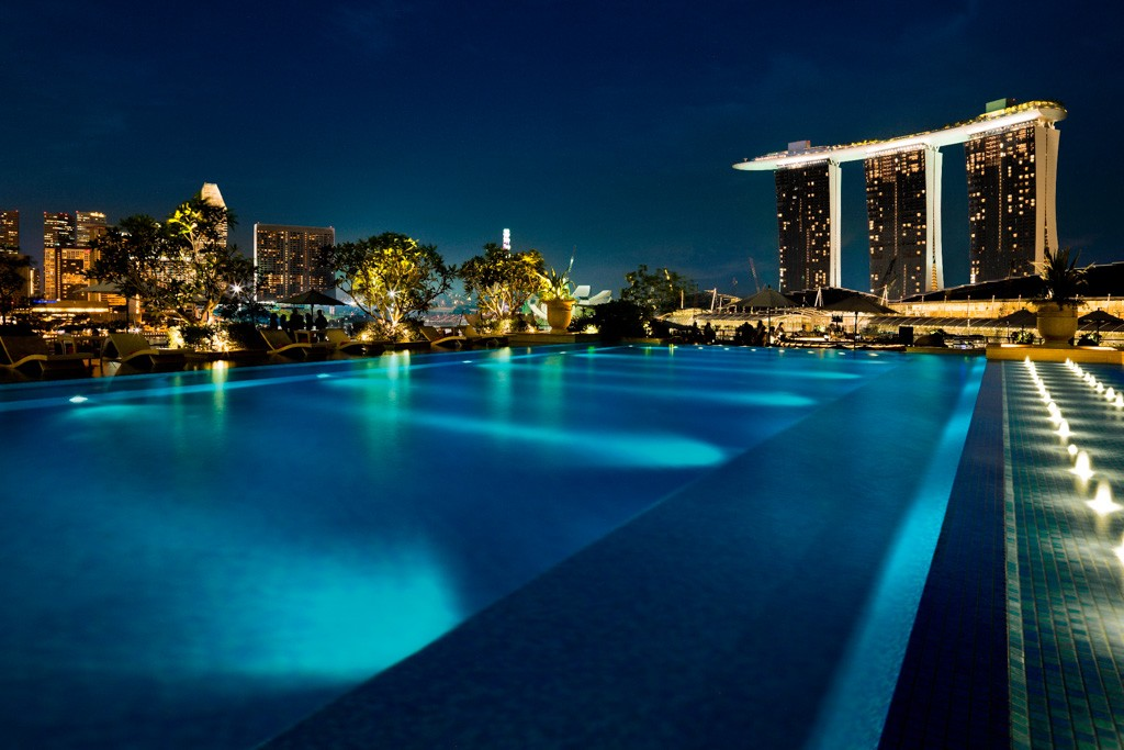The fullerton bay nouvelle r f rence du luxe singapour for Hotel singapour piscine