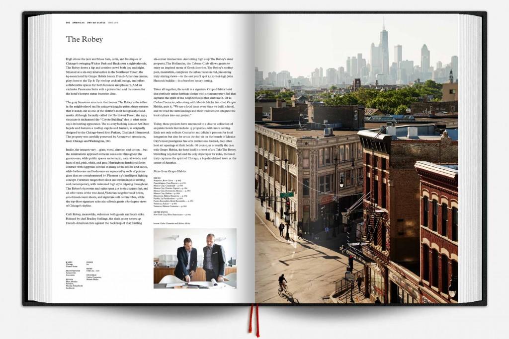 Comme chaque année, le label Design Hotels réunit dans un beau livre sa collection d'hôtels. The Design Hotels Book 2017 réunit ainsi pas moins de 283 adresses à travers le monde. Un achat indispensable pour les amoureux des plus beaux hôtels.