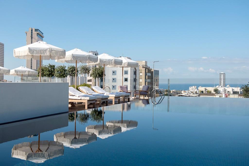 Les 13 meilleurs h tels de tel aviv isra l for Hotel nice piscine sur le toit