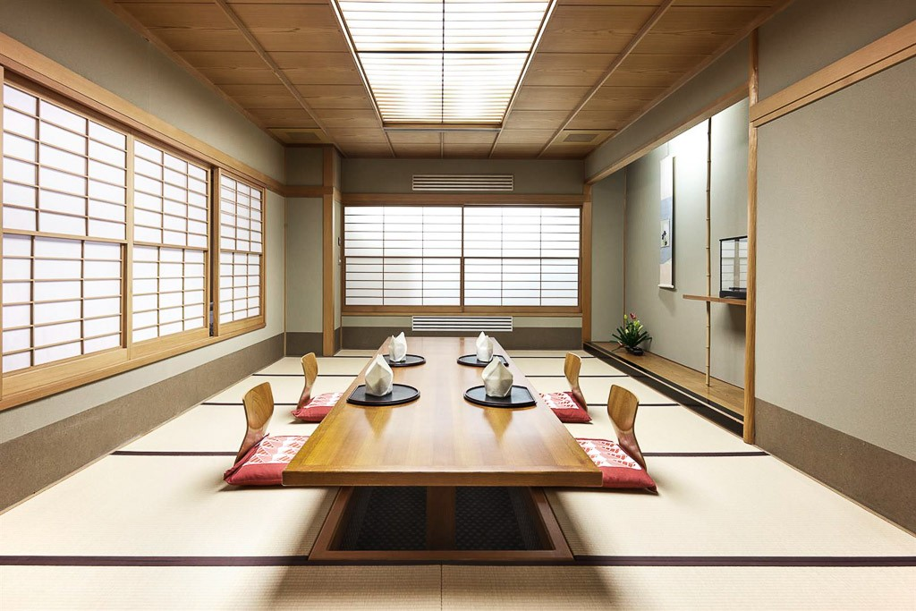 Luxe la japonaise l okura amsterdam yonder for Salle a manger japonaise