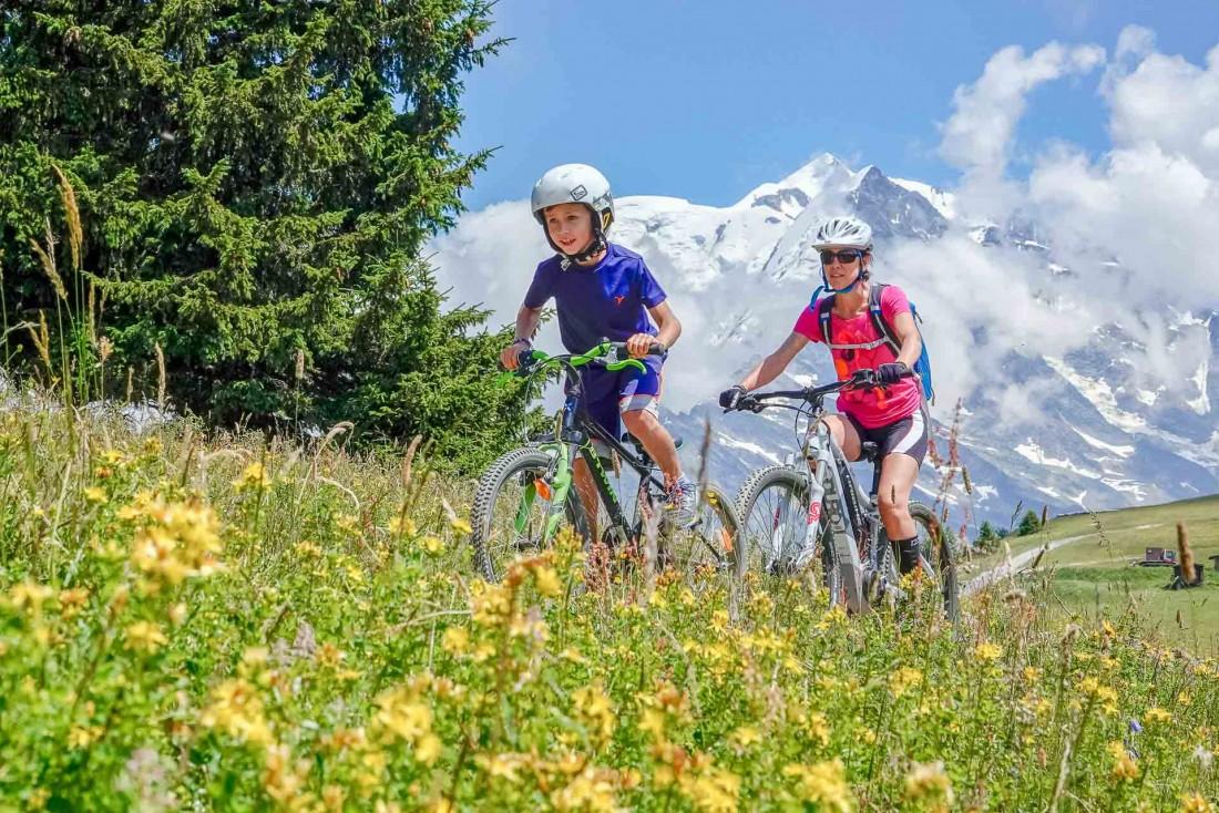 Saint-Gervais Mont-Blanc est une destination qui ravira les sportifs comme les familles © Boris Molinier