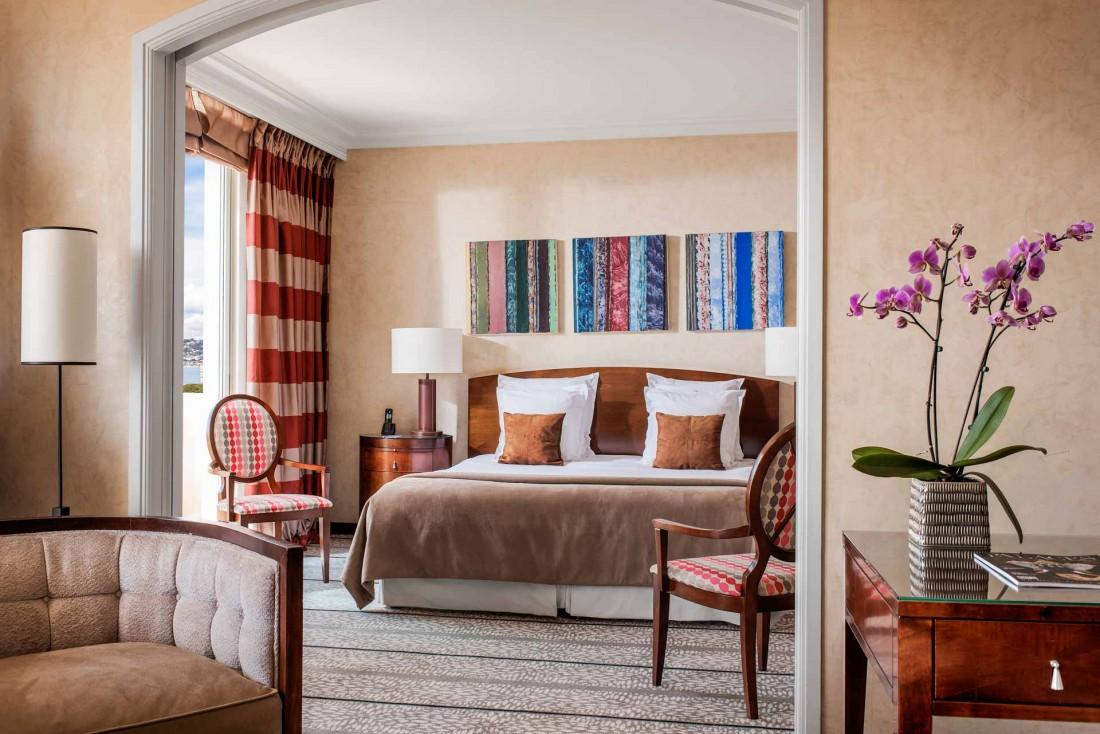 Une suite à l'Hôtel Juana d'Antibes© Hôtel Juana