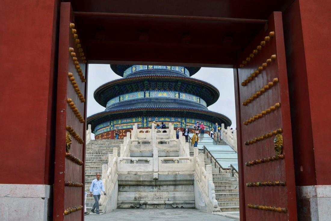 Le Temple du Ciel au sud de Pékin. © Pierre Gunther / YONDER.fr