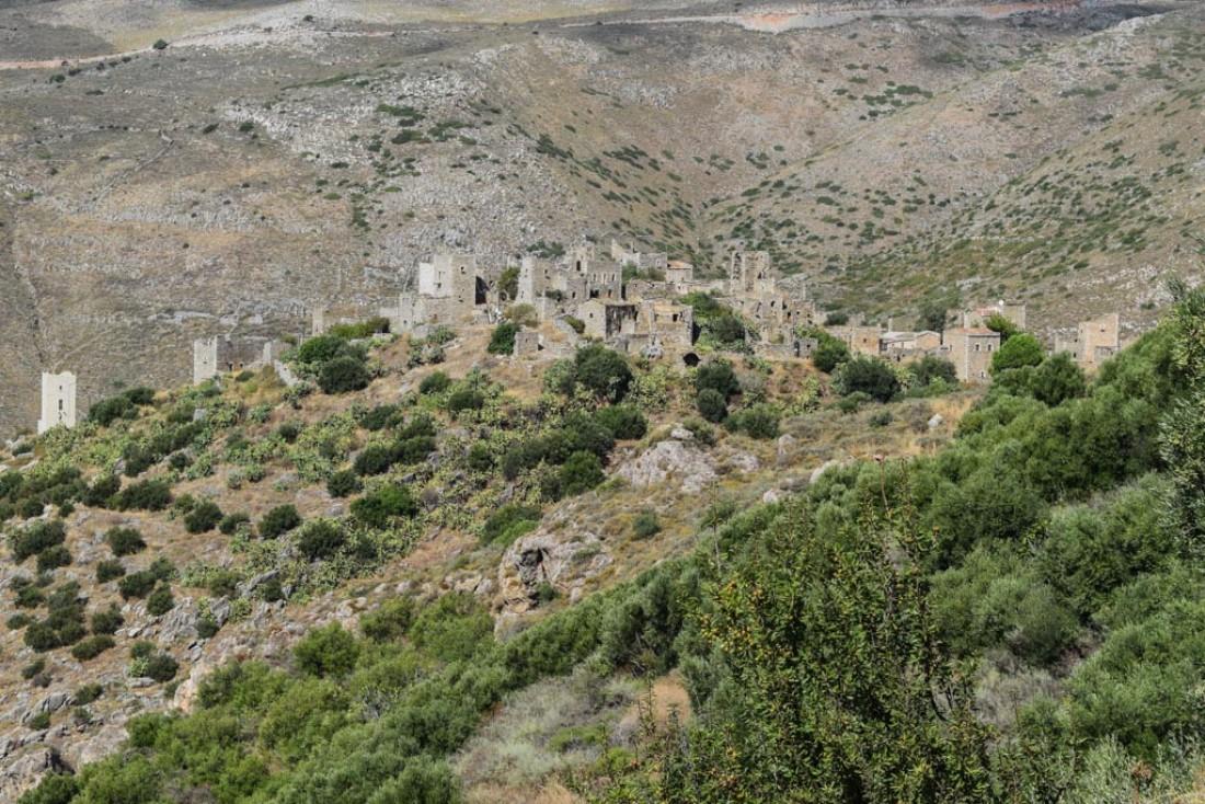 Le village de Vathia est l'un des impressionnants de la région © Yonder.fr