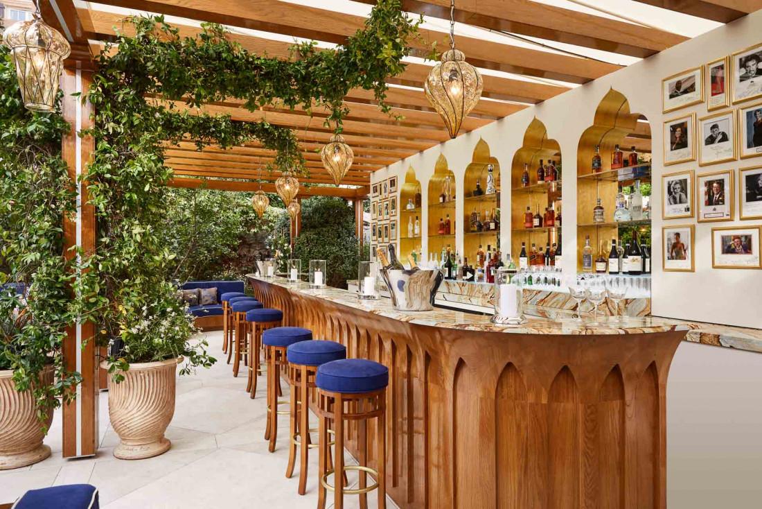 Cipriani Saint-Tropez | Le bar © DR