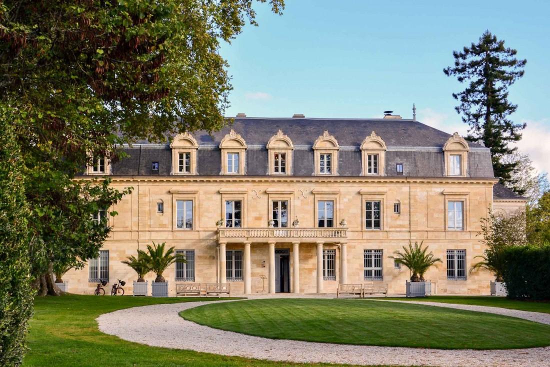La Maison d'Estournel et son vaste parc au cœur du Médoc © EL / YONDER.fr